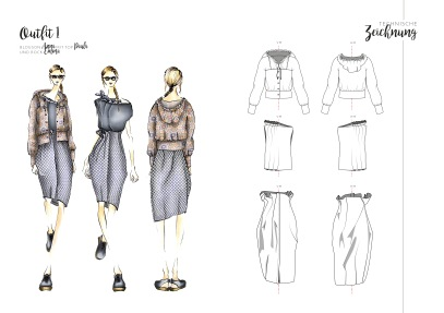 Technical Drawing, Outfit 1